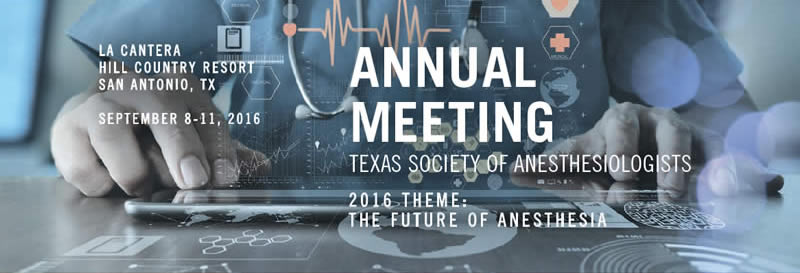 2016 TSA Annual Meeting